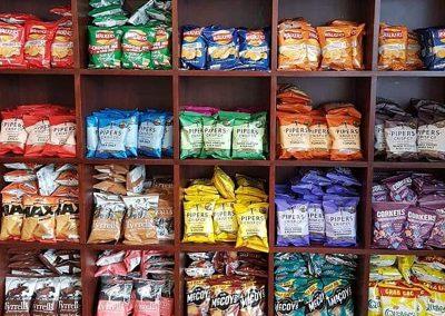 Snacks and Crisps