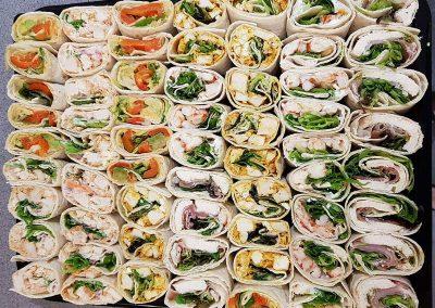 Buffet selection wraps