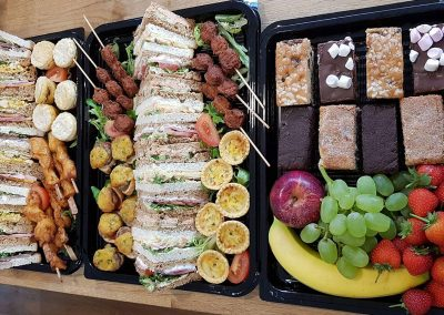 Corporate catering classic finger buffet