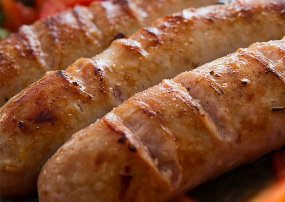 Hand made Butchers Sausages